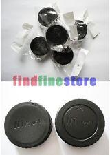 5x Rear lens and Body cap for Nikon 1 mount N1 J1 V1 V2 S1 Wholesale lots 5 pcs