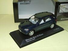 MERCEDES CLASSE M 2005 Bleu MINICHAMPS