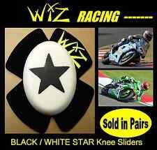 WIZ BLACK WHITE STAR KNEE SLIDERS