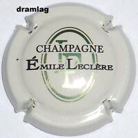 Capsule de Champagne:  Nouvelle  !!! LECLERE Emile ,  crème ,N°13