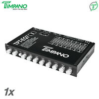 Timpano TPT-EQ7 7 Band Graphic Equalizer with Subwoofer-Level Control EQ