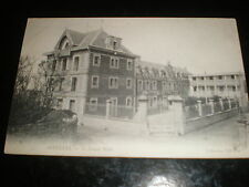 Old printed postcard Grand Hotel Asnelles France c1908