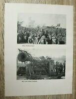 Blatt Bilder Geschütz Artillerie Englisches Flak Deutsche 1940 Hafen 2. WK WWII