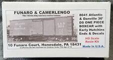 LMH Funaro F&C 8041 ATLANTIC & DANVILLE A&D 36' Old Time TR Boxcar 1-PIECE BODY