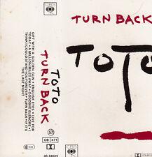 "K 7 AUDIO (TAPE)  TOTO  ""TURN BACK"""