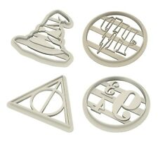 Harry Potter Cookie Cutter, Fondant, 3d Printed