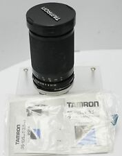 Tamron CF Tele Macro 35-135mm F3.5-4.2 Adaptall 2 Fast Canon FD Zoom Lens