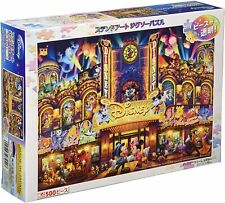 """Disney All Character Jigsaw Stained Art Gutto 500 Piece """"Disney Dream Theater"""""""