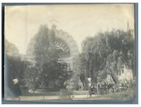 France, Paris, Exposition Universelle de 1900 Vintage silver print  Tirage a