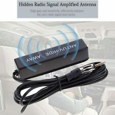Universal Car Hidden Amplified Antenna Kit 12V Electronic Stereo AM/FM Radio US