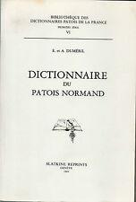 Dictionnaire du Patois Normand par E.et A. Duméril