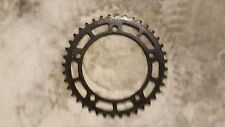 NOS OLD SCHOOL BMX ORIGINAL 80s TAKAGI 40 TOOTH GEAR BLACK CHAINRING SPROCKET