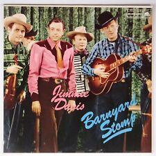 JIMMIE DAVIS: Barnyard Stomp BEAR FAMILY Germany ROCKABILLY country NM- LP