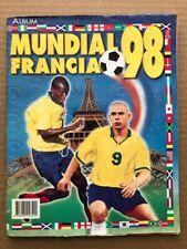 Mundial Francia 98 - Navarrete Album INCOMPLETE