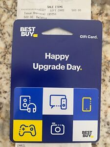 Best Buy Gift Card valued at $500