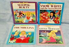 4 Different Vintage Honey Bear BOOKS Fun-to-Read Fairy Tales: BRAND NEW
