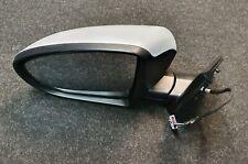 Side Mirror Glass Heated Convex Chrome LEFT Fits NISSAN Qashqai 2010-2013