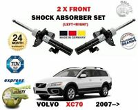 Per Volvo XC70 T6 3.2 D3 D4 D5 AWD 2007- > 2X Anteriore SX Ammortizzatore Dx Set