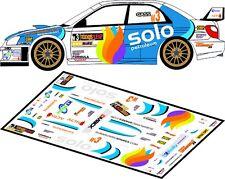 DECALS 1/43 SUBARU IMPREZA WRC - #3 - GASS - RALLYE ULSTER 2012 - D43116