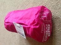 BNWT NEXT Pink Raincoat Waterproof Coat Jacket Cagoule Pac-a-Mac 7 Years