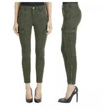 28 Beige J Brand Womens Houlihan Ripped Sandsky Cargo Skinny Crop