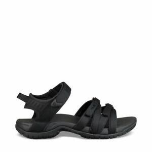 Teva Tirra Black Multi-Purpose Sandals for Women Crazy Comfort To the Adventure
