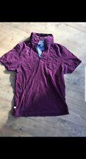 Navy and Burgandy red T-Shirt by Next size small