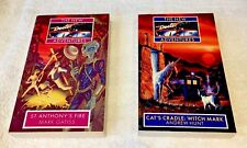 The New Dr Who Adventure Novel's X2. St. Anthony's Fire & Cats Cradle Witch Mark