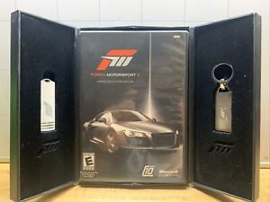 Forza Motorsport 3  Limited Collector's Ed. Complete In Box With Usb a& keychain