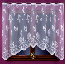Beautiful New Ready Made Jacquard Net Curtain stylish design 420x160cm Window