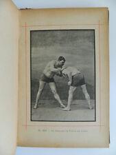 La Lutte et les Lutteurs  Léon Ville   Nadar  photographie  1891  Traité E.O