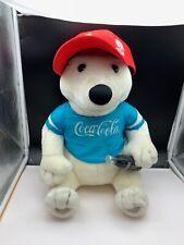 Coca Cola Stofftier Eisbär Polarbär 42 cm. Unbenutzt, Top Zustand