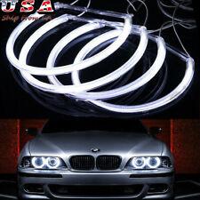 Xenon White Headlight LED Angel Eyes Halo Rings For BMW E36 E46 E39 3 5 Series