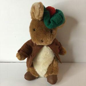"Vintage Eden Beatrix Potter Benjamin Bunny Rabbit Plush 13"""
