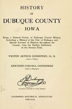 1911 DUBUQUE County Iowa IA, History and Genealogy Ancestry Family Tree DVD B38