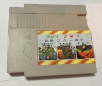 VINTAGE NINTENDO NES KNOCK OFF GAME CART JAPAN NINJA TURTLES BATMAN TESTED WORKS