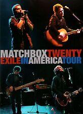 MATCHBOX TWENTY / ROB THOMAS 2008 EXILE IN AMERICA TOUR CONCERT PROGRAM BOOK