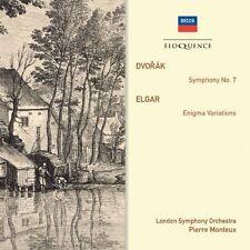 Dvorak Symphony No 7 Elgar Enigma Variations Pierre Monteux 2012 CD