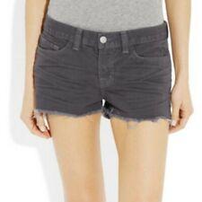 NWOT J Brand Low Rise Cutoff Shorts Plum Purple Women's 25 NEW