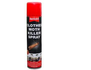 Rentokil Clothes Moth Killer Spray, Cockroaches, Woodlice, Carpet Beetles New