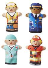 Melissa & Doug Kids Jolly Helpers Soft Plush Hand Puppets - Set of 4