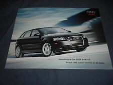 2003 Audi A3 Sportwagon USA Market Color Brochure Catalog Prospekt