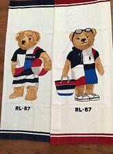 "NWT-POLO RALPH LAUREN Beach Towel LIMITED EDITION ""BEACH POLO BEAR RL-67"" Set"