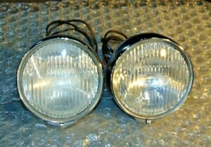 Jaguar 3.8 S Lucas FT6 Back Mount Fog Lamp Set-Work Well-Very Clean And Nice- S3