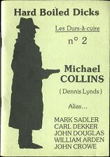 Fanzine Hard-Boiled Dicks N°2 - Michael Collins - EO 1982