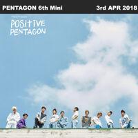 PENTAGON Positive 6th Mini Album CD+Booklet+PhotoCard KPOP