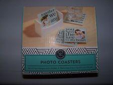 New listing Modern Expressions Photo Coasters-Nib
