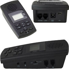 AUTOMATIC TELEPHONE VOICE RECORDER FOR DIRECT LANDLINES TIME/DATE & NUMBER SAVED