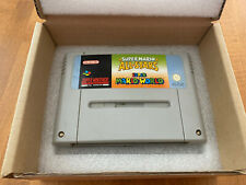 Super Mario Allstars Super Mario World SNES Cartridge only Nintendo PAL VERSION