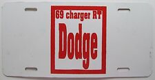 1969 DODGE CHARGER RT BOOSTER License Plate